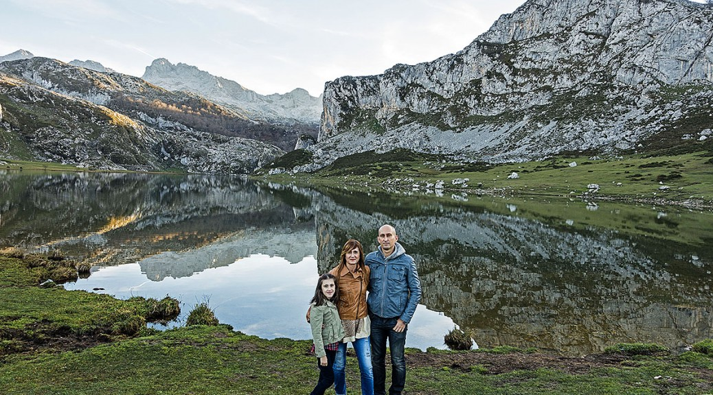 Lago Ercina en Covadonga 2015